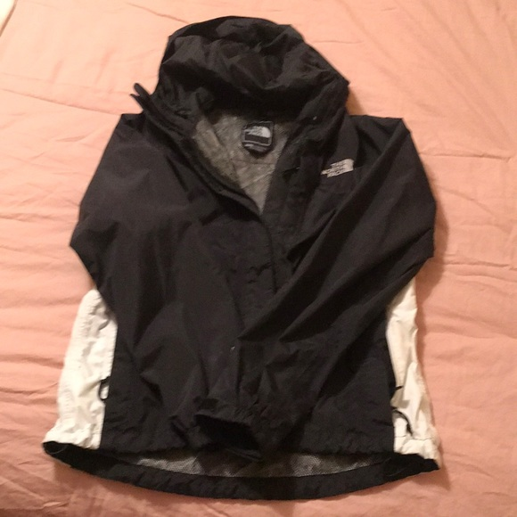 f044af612 Black North Face Rain Jacket